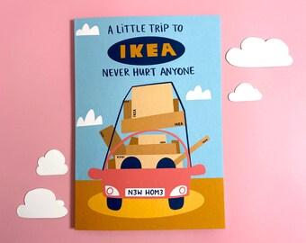 Ikea Card - Funny - Cute - New Home - DIY