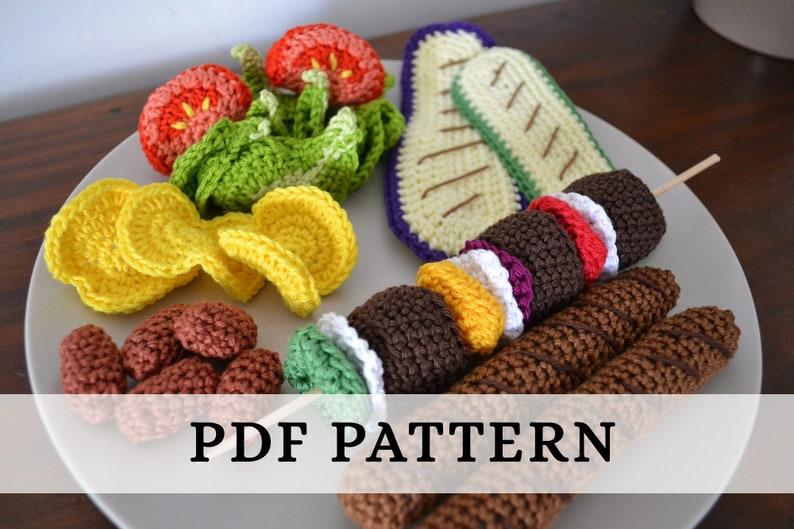 La Dînette de Lalu  Barbecue patron crochet / crochet image 0