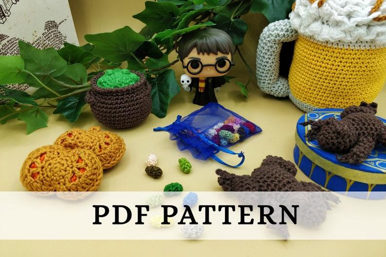 La Dînette de Lalu  Chez Harry Potter patron crochet / image 0