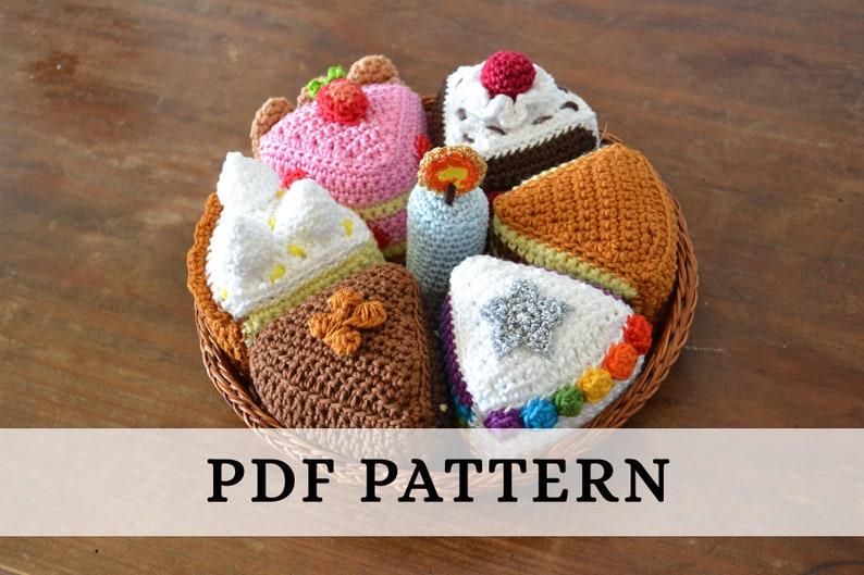 La Dînette de Lalu  Les Gâteaux Patron crochet Cakes image 0