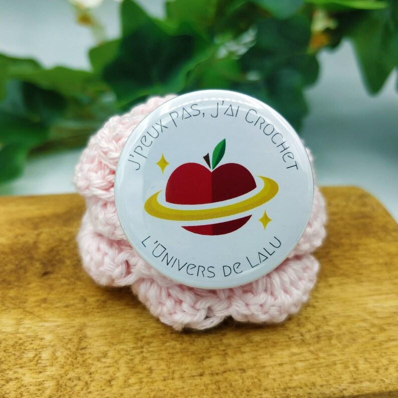 I Can't I Crochet Badge the Lalu Universe  image 0