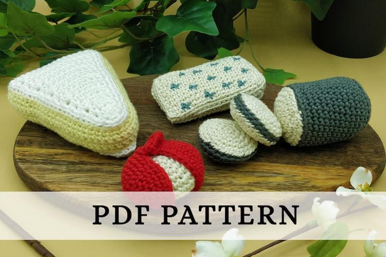 La Dînette de Lalu  Chez le Fromager patron crochet PDF : image 0