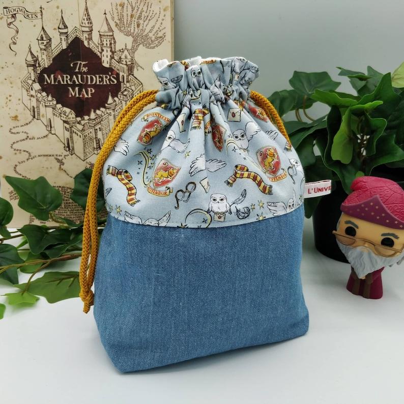 Harry Potter Knitting/Crochet Project Bag  Project bag image 0