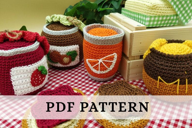La Dînette de Lalu  Petit déjeuner patron crochet PDF : image 0