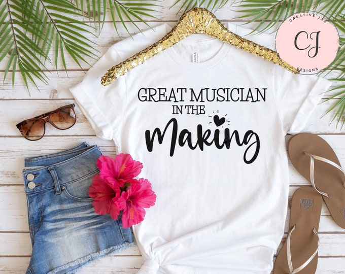 Great Musician In The Making Shirt