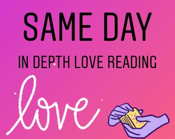 Same Day In Depth Love Reading