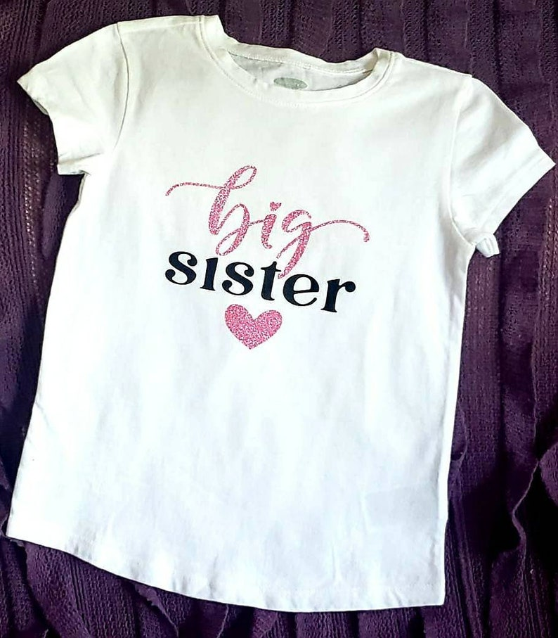 big sister shirt little sister tshirt Big sister little sister matching shirts