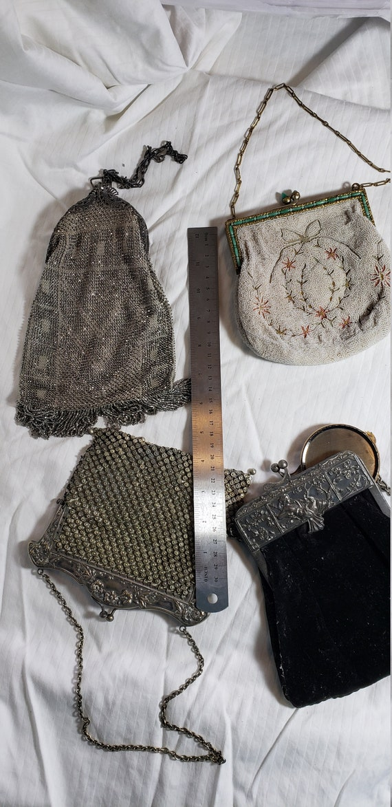 4 vintage purses from 20s