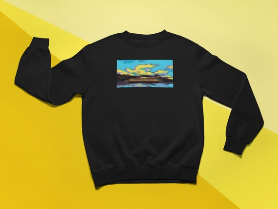 Spirited Away Spirited Train Sweatshirt Aesthetic Studio Etsy