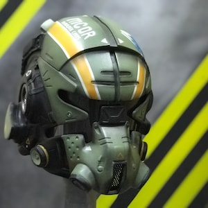 Cyber Oni Demon ACID helmet for AIRSOFT and COSPLAY