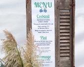 Banner menu