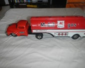 Linemar tin friction mobil gasoline tanker truck
