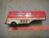 Marx Linemar tin mobil gas tanker trailer only