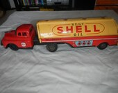 Linemar tin friction shell gas tanker truck