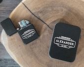 Groomsmen Gift, Engraved Cigar, Wedding Favor, Custom Lighter, Groom Gift, Unique Lighters, Personalized Zippo, Groomsman Gift, Flip Lighter