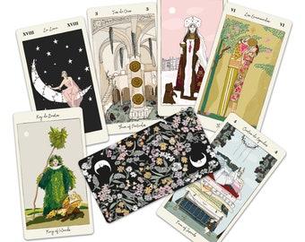Tarot Deck Carlotydes - 78 Tarot cards