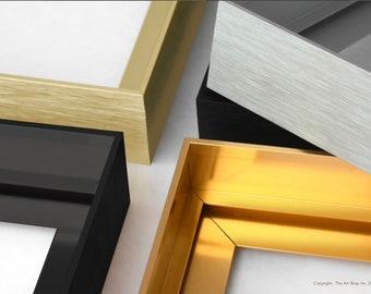 Custom Floating Frames, Floater Custom Frames, Floater Frame, Custom Canvas Frames, Floating Frames for Canvas, Large Floater Frame