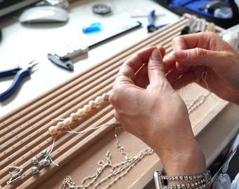 Restring Pearls Service / Beaded Necklaces / Bracelets / Repair Your Old or Damaged Pearl Strand