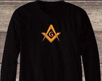 Freemason fear no danger square and compass sweatshirt