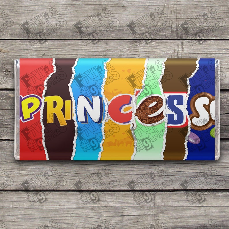 Royalty Novelty Funny Adult Humor Candy Bar WRAPPER ONLY