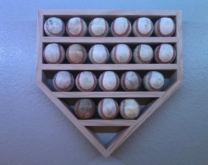 Baseball Shelf-20 ball holder
