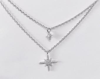 Starburst Layered Necklace