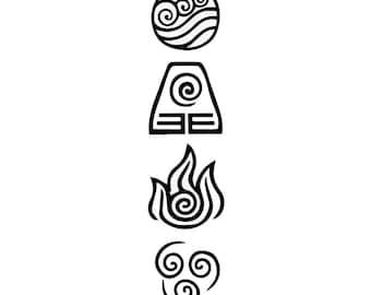 Avatar Symbols Etsy