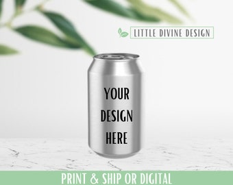 Custom Soda Can Wrapper, Party Favor