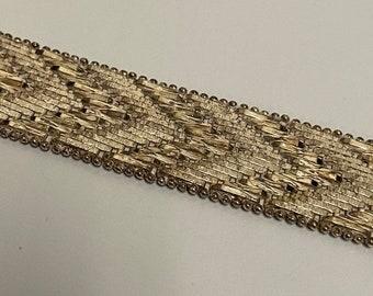 ONSALE Milor Italy Mirrored Arrows Handmade Vintage Sterling Silver Bracelet Antique Jewelry Statement