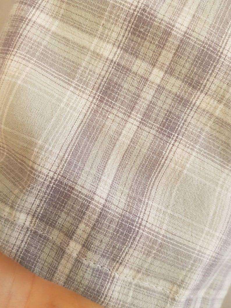 Women/'s  Light Cotton Flare Plaid Skirt