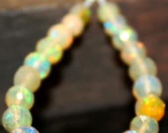 Beautiful AAA Ethiopian Welo Opal Plain Pear Shaped Briolettes 15 Pieces Approx 2 Inch Half Strand 9x5mm To 5x3mm