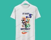 Super Hero Girls Birthday Tshirt / Super Hero Girls Camisa de cumpleaños