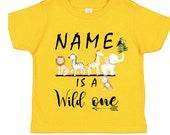 Safari Birthday Tshirt / Camisa de cumpleaños