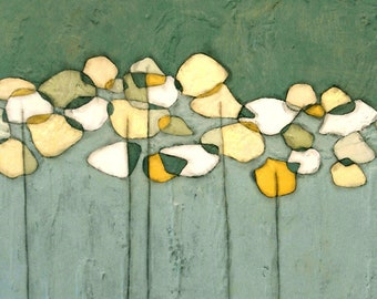 """3 sizes - beeswax wrapped canvas reproduction 