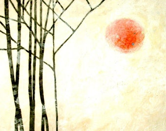 """3 sizes - beeswax infused gallery wrapped canvas reproduction 