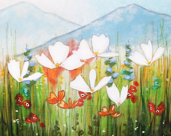 """3 sizes - beeswax gallery wrapped canvas reproduction 