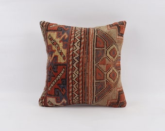 kilim cushion cover 18/'/'x18/'/'kilim pillow decorative pillow pillow turkish kilim pillow bohemian pillow vintage pillow turkish pillow