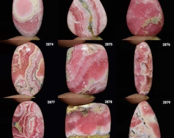 70.Ct Beautiful Top Grade 100/% Natural Pinkish  Rhodocrosite Oval Cabochon 29x43x5MM Approx Handmade Pendant Gemstone For Best Collection