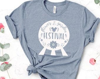 Disney World / Walt Disney / Disney World Shirts / Flower & Garden Festival / Epcot / Disney World Vacation / Family Shirts