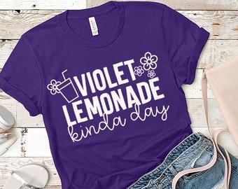 Disney World / Walt Disney / Disney World Shirts / Flower & Garden Festival / Violet Lemonade / Disney World Vacation / Family Shirts