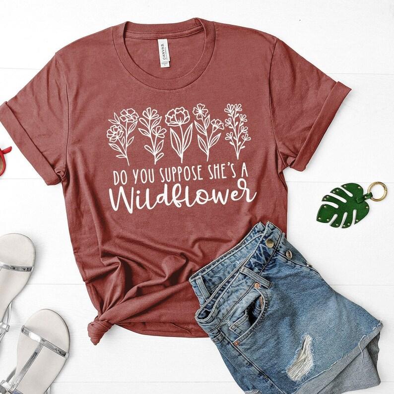 Disney World / Walt Disney / Disney World Shirts / Flower & image 0