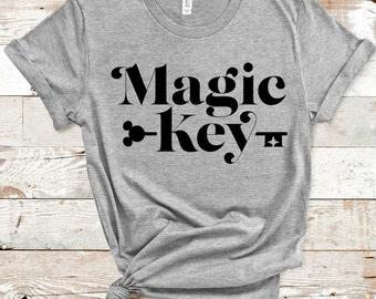 Disney World / Walt Disney / Disney World Shirts / Disneyland Shirts /Disneyland / Pass / Magic Key