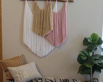Macrame Bohemian,Tapestry,Wall decor,Yarn wall art