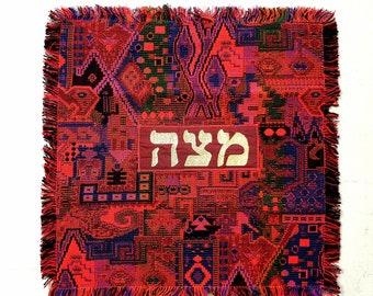 Passover Tie Matzah Pattern Faux Silk for Men