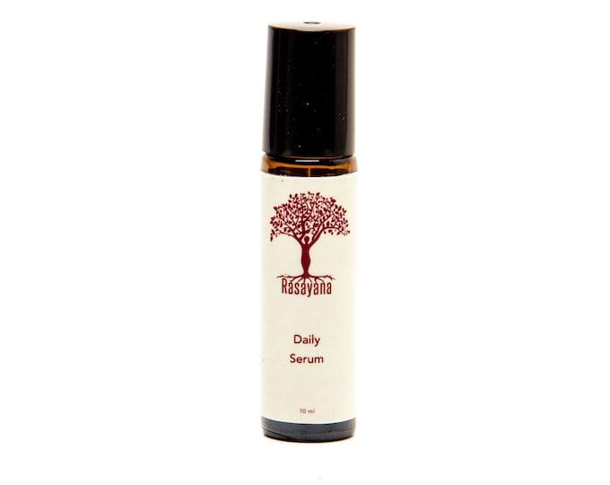 Elixir Anti-aging Daily Serum | Roller Bottle | Frankincense | Myrrh | Seabuckthorn | Rosehip | Jojoba | Skin Care Serum