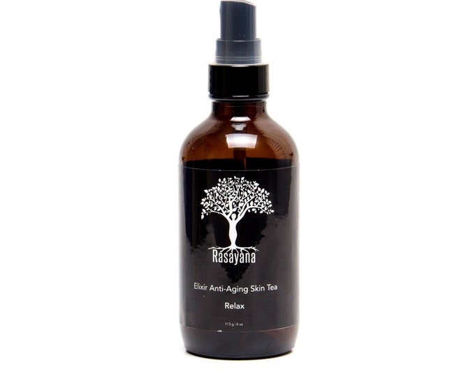Relax Skin Tea |  | Skin Toner Spray | Masculine Skin I Grapefruit | Ylang ylang | Soothing | Organic Oils | Cold Pressed | Wild Crafted