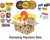 4x Exclusive Funko Pop Mystery Box Vaulted Rare Glow In The Dark Limited Edition Sticker Exclusives GUARANTEED Funko Pop Loot Box