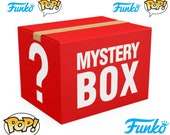 Exclusive Funko Mystery Box Vaulted Rare Glow In The Dark Limited Edition or Common Funko Pop (1 Pack)