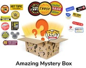 10 Pack PREMIUM Funko Pop Enthusiast Mystery Box Lot Guaranteed Exclusives Vaulted Limited Edition Sticker Common Pops