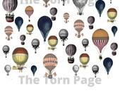 Vintage Hot Air Balloon Ephemera, Junk Journal Kit, Digital Hot Air Balloon Printables, Vintage Ephemera for Journals, Instant Download